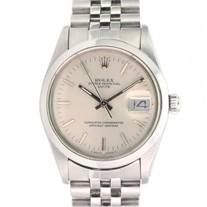 Rolex Watch Oyster Perpetual Date 15000 34mm